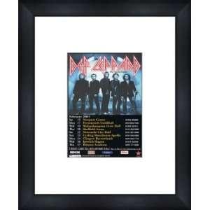 DEF LEPPARD UK Tour 2003   Custom Framed Original Ad