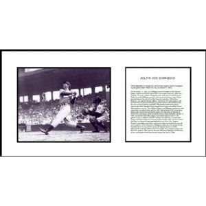Joe DiMaggio New York Yankees MLB Instant Classic Framed