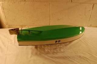 VINTAGE PRE WAR LIONEL LIONEL CRAFT TOY 44 RACE SPEED BOAT MOTORBOAT
