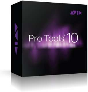 Pro Tools 10   Full Version   Boxed (Pro Tools 10 Software)