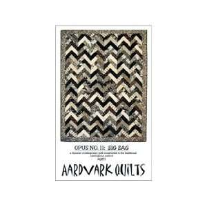 Aardvark Quilts Opus No11 Zig Zag Pattern Arts, Crafts