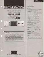 Original Service Manual Sansui A 1100/1130 In Amp |