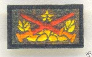 scale Vietnam era ARVN Ranger Qualification Patch