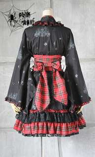 VISUAL KEI PUNK KERA Lolita classic Japan Kimono Dress