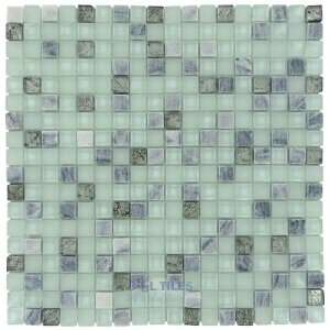 Onix glass tiles   crystone 5/8 x 5/8 tile in moon beam