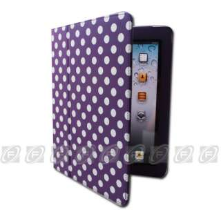 Magnetic Stand Smart Leather Case Cover iPad 2 Checker