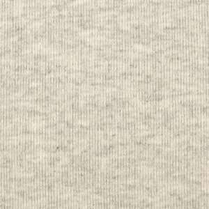 30 Tube Rib Knit Heathered French Beige Fabric By The