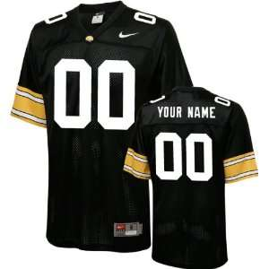 Iowa Hawkeyes Football Jersey Customizable Nike Black