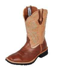 NEW Ariat SHOW BABY Square Toe Boots #17175 Ladies Brn