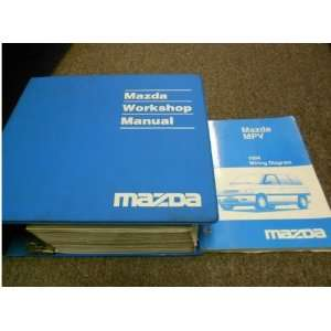 1994 Mazda MPV Van Service Repair Shop Manual SET OEM
