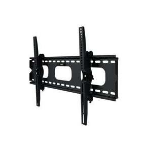 Black Slim Adjustable Tilting Wall Mount Bracket Fits 32 60in