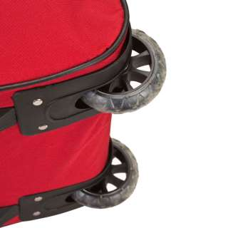 ROCKLAND DELUXE 30 ROLLING DUFFEL BAG   RED $80