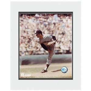San Francisco Giants Gaylord Perry Matted Photo