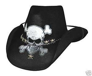 Endless Ride by Bullhide Skull Cowboy Western Hat (XL)