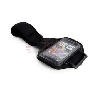Black Sports Gym Arm Band Case Cover for Samsung i9100 Galaxy SⅡ2
