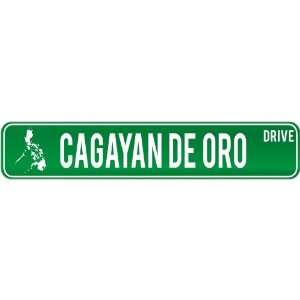 New  Cagayan De Oro Drive   Sign / Signs  Philippines Street Sign
