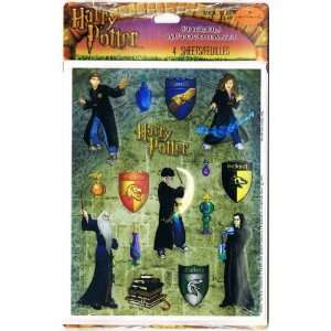 Harry Potter Hogwarts House Crests and Characters Stickers