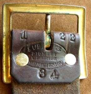 vintage Eubanks Pioneer Leather .22 cal. bullet loop basket weave