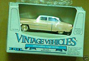 43 1952 Cadillac Coupe Deville Pink & White Ertl 1986