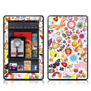 Eye Candy Design Protective Decal Skin Sticker for  Kindle Fire