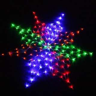 Christmas decoration lights neon led flashing double star for 160 net christmas decoration lights clear