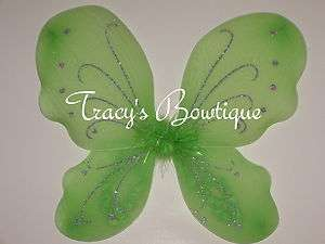 Lime Butterfly Fairy Angel Wings Dress Up Princess Costumes Party