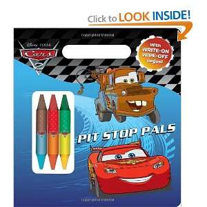 Pit Stop Pals (Disney/Pixar Cars) (Write On/Wipe Off Activity Book)