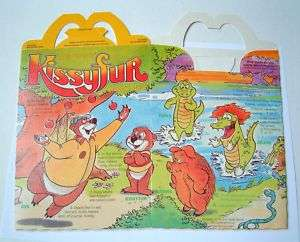 MCDONALDS KISSYFUR HAPPY MEAL BOX