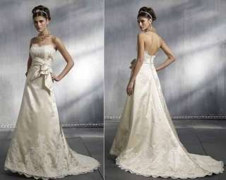 Perfect Bride Bridal bridesmaid gown evening /wedding dress all size