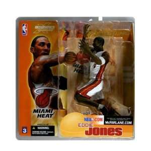 Picks Series 3 Action Figure Eddie Jones (Miami Heat) White Jersey