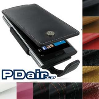 PDair Genuine Leather Flip Case for Dell Venue Pro