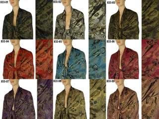 Cashmere Silk Wool Pashmina Scarf Shawl Wrap Cape 833s