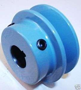 NEW 2.5 OD 3/4 Fixed Bore A Cast Iron Pulley Maska