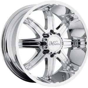 20x9 Milanni Kool Whip 8 8x170 +18mm Chrome Wheels Rims