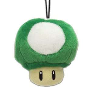 Super Mario Brothers Plush Phone Charm Strap Vol. 2   1 Up