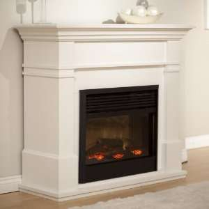 Dimplex Kenton White Electric Fireplace Home & Kitchen