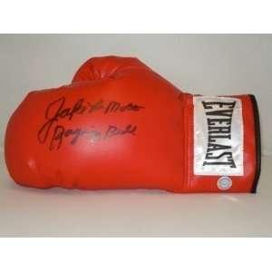 JAKE LAMOTTA Signed Everlast Boxing Glove Raging Bull