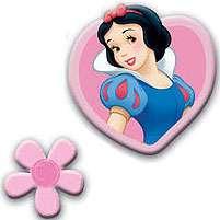 9pc Disney PRINCESSES FOAM Shapes WALL DECOR Girls Room