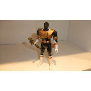 POWER RANGERS GOLD FLIP HEAD POWER RANGERS FIGURE Toys & Games