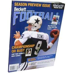 Magazine   Beckett Football   2008 Aug/Sept Vol. 20 No. 5