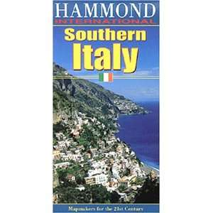 Maps Southern Italy (Hammond International (Folded Maps)) [Map