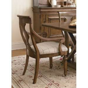 Universal Furniture New Lou 071637 Louies Arm Chair: Home & Kitchen