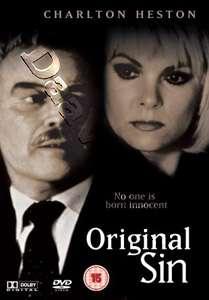 Original Sin NEW PAL DVD Charlton Heston Ann Jillian