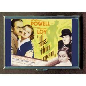 Myrna Loy The Thin Man ID Holder, Cigarette Case or Wallet