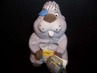 Disney Winnie Pooh High Seas Gopher Plush Stuffed Toy