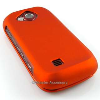 ORANGE Hard Rubber Cover Case Samsung Reality Accessory