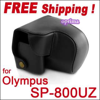 Olympus SP 800UZ SP800 14MP Digital Camera leather case
