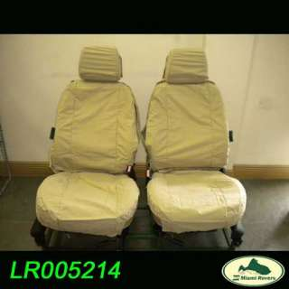 LAND ROVER WATERPROOF FRONT SEAT COVER SAND LR3 OEM