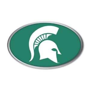 Michigan State University Spartan Head Logo NCAA College Sports Team