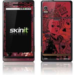 Red Queen Black Lace skin for Motorola Droid: Electronics